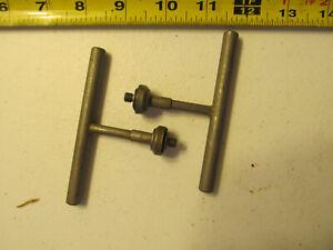 Aircraft Tools 2 1/4 28 quick chucks W/removal handles