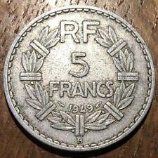 PIECE DE 5 FRANCS LAVRILLIER 1949 B (401)