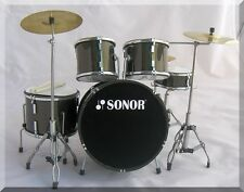 SONOR  Miniature DrumSet  Drum Set  ( for display only )