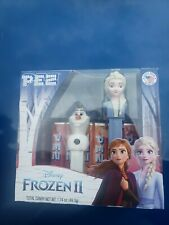 Frozen 2 PEZ set Featuring  Olaf and Elsa- rare