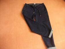 Ted Baker jeans with drawer string tie belt, dark blue denim, worn once size 10