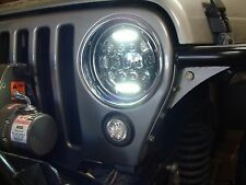 2001 JEEP TJ LED HEAD LIGHT INCLUDES ONE PAIR 2 LIGHTS HIGH QUALITY USA SELLER