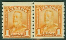 EDW1949SELL : CANADA 1929 Unitrade #160i Paste-up pair. Very Fine, MNH. Cat $300
