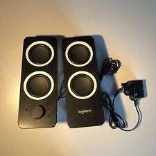 More details for logitech z200 black speakers with stereo sound (10w) for pc/tv/smartphone/tablet