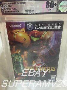 Metroid Prime (Nintendo GameCube, 2003) - Japanese Version VGA 80+ ARCHIVAL CASE