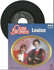 "Olsen Brothers, Louise, G/VG  7"" Single 999-677"