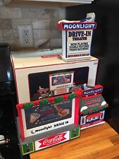 Coke - Coca Cola Town Square Collection Moonlight Drive-in Theater Set