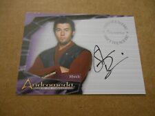 Andromeda ROTC by Inkworks Autograph A6 Steve Bacic as Rhade
