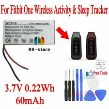 Wireless Activity & Sleep Tracker 60mAh Rechargeable Battery for Fitbit One