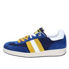 scarpe uomo D' ACQUASPARTA 41 EU sneakers blu camoscio tessuto AB908-D