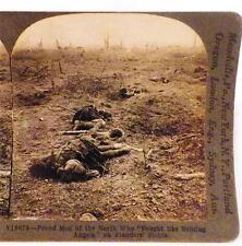 World War I Stereoview Shining Angels on Flanders Fields Keystone View Co