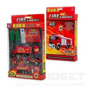 Big Daddy – Fire Rescue Mini Vehicle Truck Starter Edition – 10-piece NEW