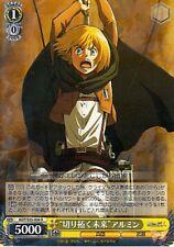 Attack on Titan Shingeki no Kyojin Trading Card Armin AOT/S35-006 R Holographic
