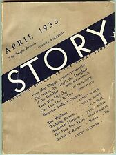 STORY Pulp/Magazine - Apr 1936 - VG+ Cornell Woolrich story