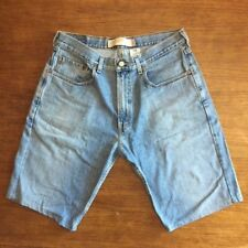 Levis 569 Men's Size 32 Light Fade Loose Straight Jeans Short