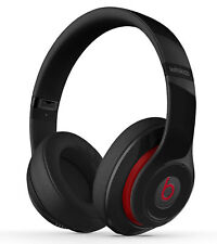 Beats by Dr. Dre Studio 2.0 Red Over Ear Headphones Wired Black