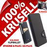 Krusell Kalmar FlipWallet Synthetic Leather Case for Apple iPhone 6 Plus/6S Plus