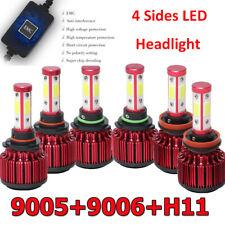 6x 9005 9006 H11 Led Headlight Conversion Kit Car Truck Parts Fog Lamp Led Light
