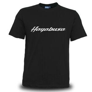 Genuine Suzuki Hayabusa Motocross Superbike SBK Motorcycle Black Men Tee T-Shirt