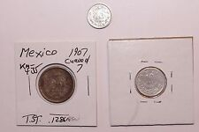 1889 21000 Minted, 1925/07 10, 20 Centavos Mexico Silver 3 Very High Value Coins