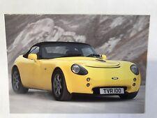 TVR Tamora Car UK Market Postcard Style Leaflet Brochure Spec Sheet - Freepost