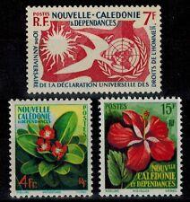 Timbre de Nouvelle Calédonie N° 288, 289 et 290 neufs **