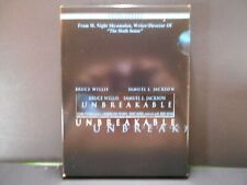 Unbreakable - Dvd 107 Minutes 2 disc Special Features w/photo card Bruce Willis