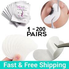 Salon Eyelash Lash Extensions Under Eye Gel Pads Lint Free Patches Make Up