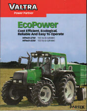 Valtra HiTech 6750 and 8350 Tractor Brochure Leaflet
