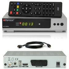 HDTV HD FULL Digital Sat Receiver OPTICUM AX300 X300 HDMI DVB-S2 1080p silber