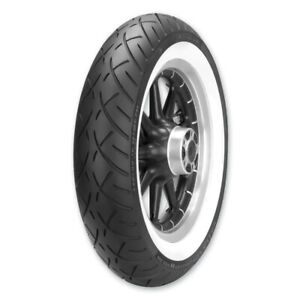 METZELER WHITE WALL ME888 FRONT TIRE MT90B16 HARLEY TOURING SOFTAIL SPORTSTER