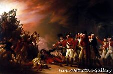 Sortie Made by the Garrison of Gibralter - American Revolution Art Print