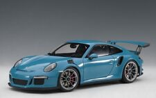 Autoart 78167 - 1/18 Porsche 911 (991) Gt3 Rs (2016) - Miami Blue - Neu