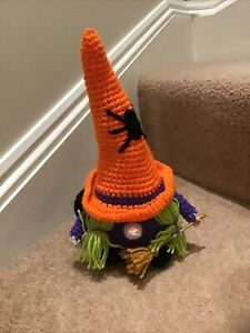 Witch Gnome New Great For Halloween Decoration Will Combine Postage  Handmade