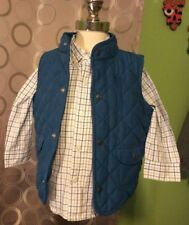 janie and jack Baby Boy Vest And Shirt Dinosaur Days Line Size 12-24 Months