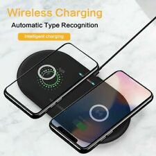 Wireless Charger QI Fast Charging Dual Pad Dock Samsung S10 S9 S8 S10+ S10E 20W