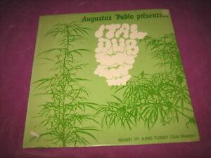 AUGUSTUS PABLO - ITALDUB - TROJAN UK 1975 NEAR MINT ORIGINAL - SCARCE 1ST PRESS