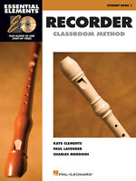 Essential Elements for Recorder Classroom Method - Student Book 1 w/CD 860561