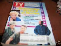 TV Guide July 1-7 1989 TV Favorites in Movies