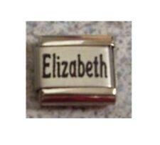 Italian Charms  Names - Name  Elizabeth