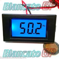 FREQUENZIMETRO DA PANNELLO 10 -199.99Hz LCD 80-300v AC corrente alternata 220V