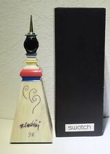 Swatch Mendini Tower GZS02 - handsigned by A. Mendini - Tischuhr signiert