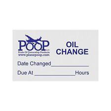 ACC-02 OIL CHANGE WINDOW REMINDERS (TEN)