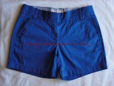 "J CREW 5"" Chino Short 0 XXS XS Casablanca Blue NEW Shorts Spring Summer Bright"
