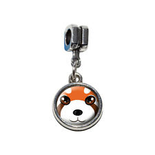 Red Panda - Zoo Animal - Italian European Style Bracelet Charm Bead