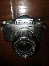 Miranda Sensomat 35MM Camera + Spiralite Repeater Flash + Kamero Wide Angle Lens