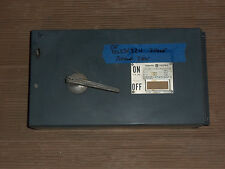 GENERAL ELECTRIC GE DD DD3S4324 200 AMP 240V FUSED PANEL PANELBOARD SWITCH QMR
