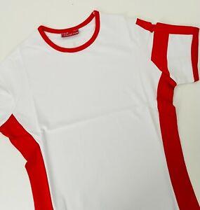 Ladies England T- Shirt Medium Cotton St George Top  Euro 2021 Come on England