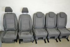 Original VW Sharan Sitzausstattung Leder Alcantara Sitze Einzelsitze grau a16513