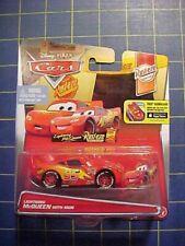 DISNEY PIXAR CARS LIGHTNING McQUEEN WITH SIGN! RUST-EZE RACING SERIES 4/12! NIP
